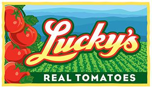 Lucky's Real Tomatoes logo