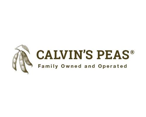 Calvin's Peas                                      logo