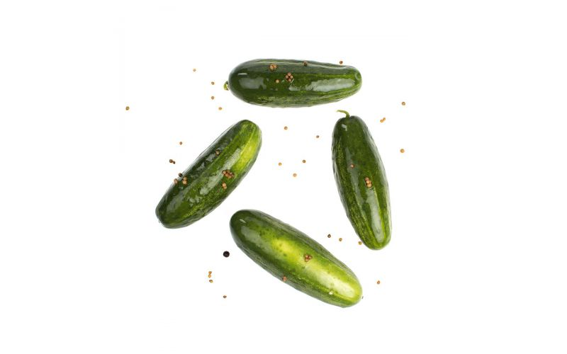 Half Sour Green Pickles