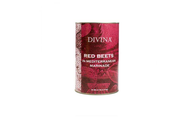 Sliced Red Beets in Mediterranean Marinade