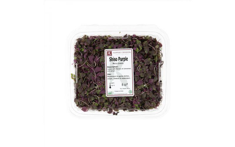 Micro Purple Shiso Leaves
