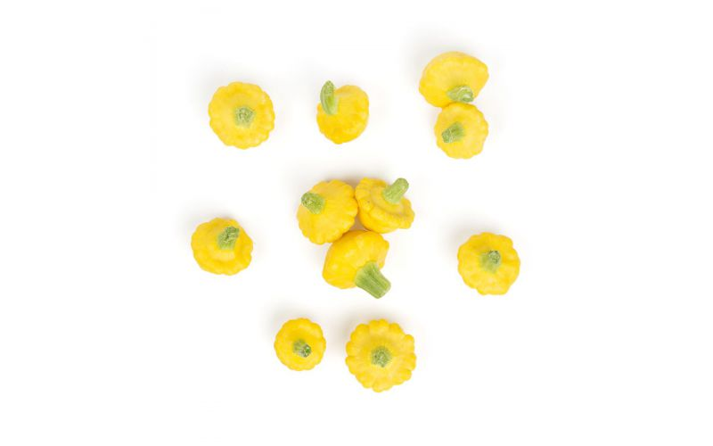Baby Yellow Pattypan Squash