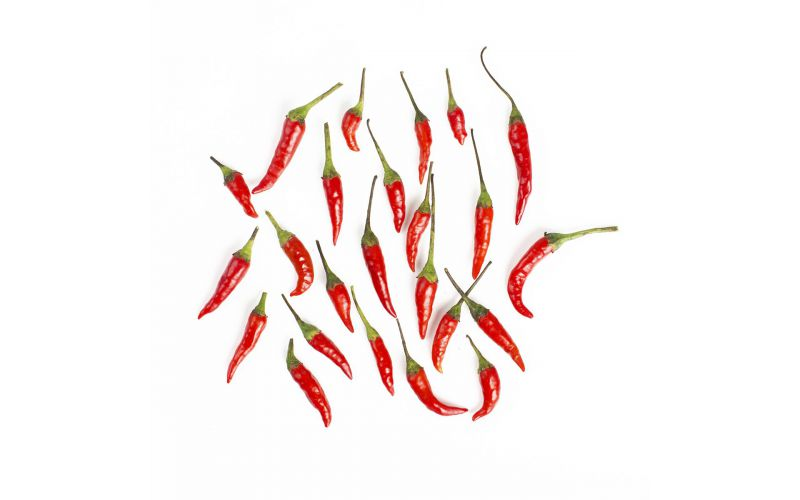 Red Thai Bird Chili Peppers