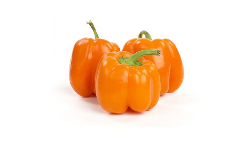Organic Orange Peppers