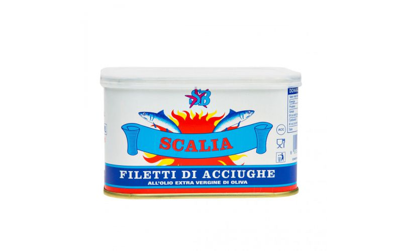 Anchovies in Olive Oil Tin
