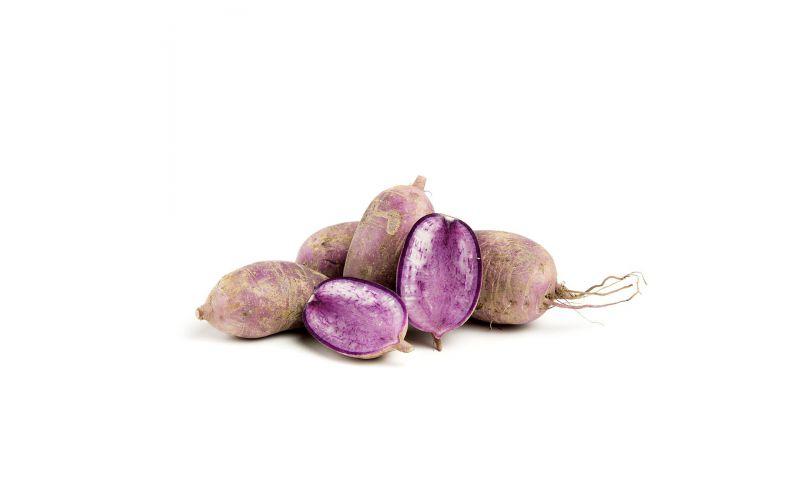 Organic Purple Bordeaux Daikon Radishes