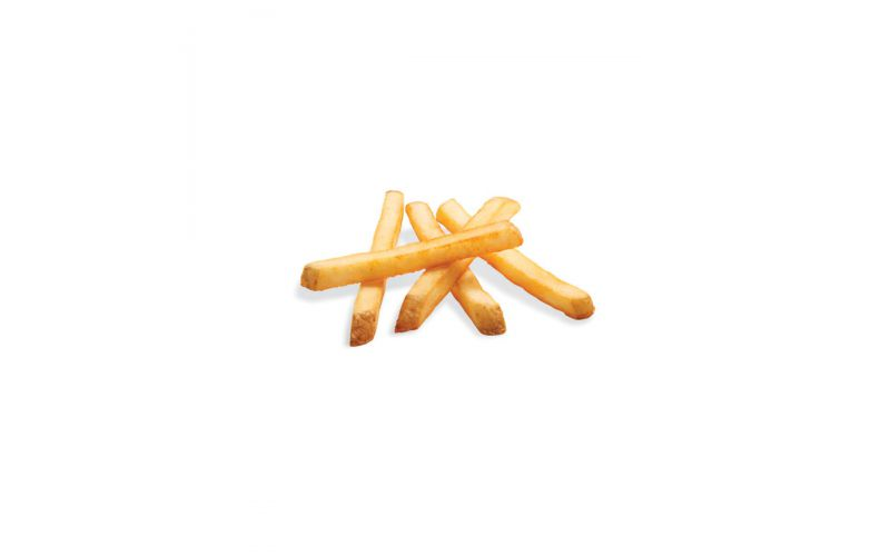Frozen Fries with Skin On 3/8