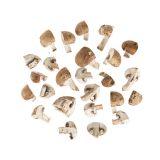 Quartered Cremini Mushrooms