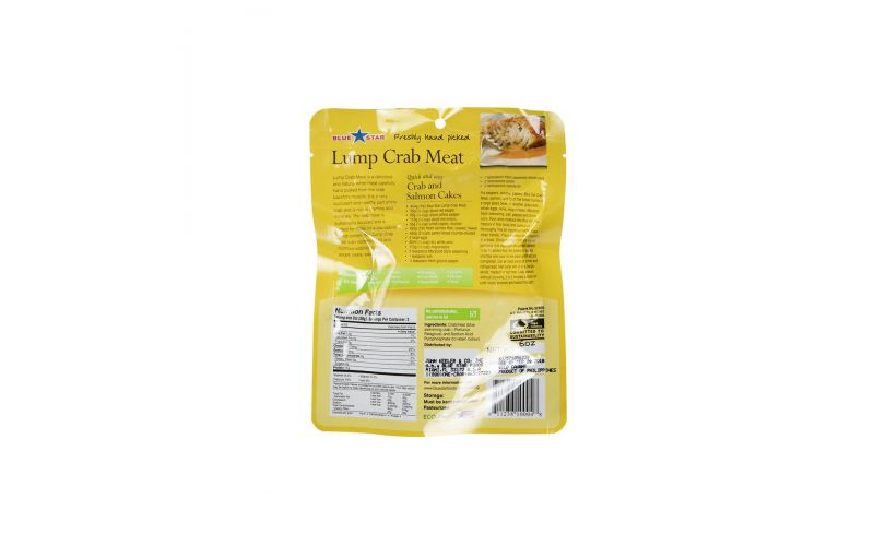 Lump Crab Meat Pouch