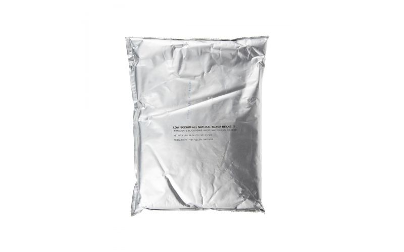 Low Sodium Black Bean Pouch