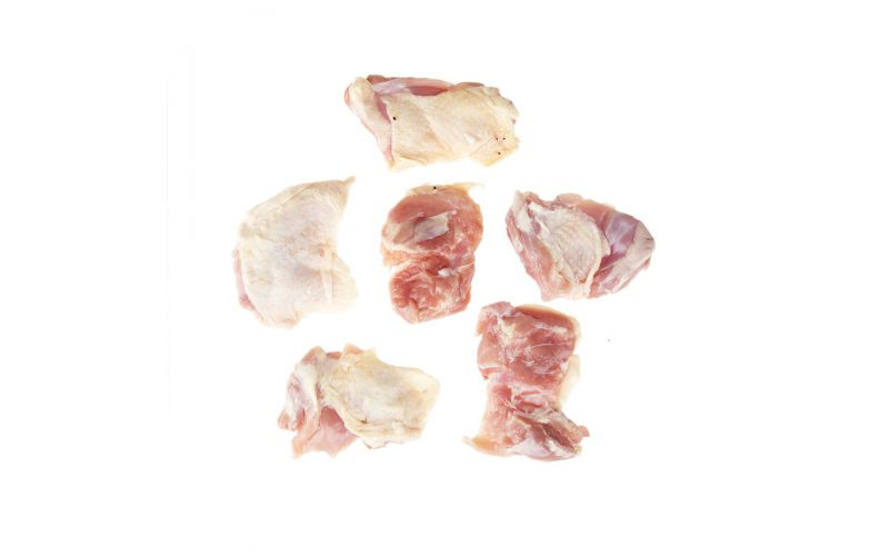 ABF Naked Bone In Skin On Chicken Thighs
