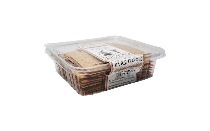 Firehook Baked Crackers Multigrain Flax Crackers