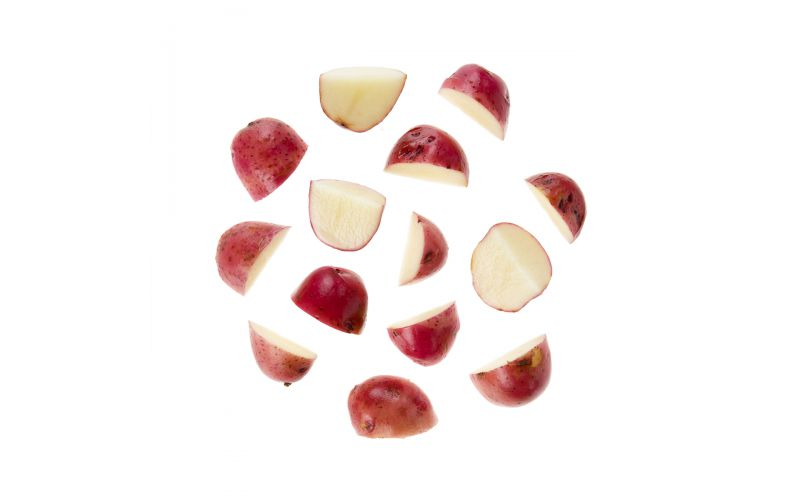 Quartered Red Potatoes