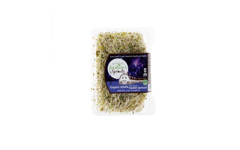 Organic Alfalfa/Radish Sprouts