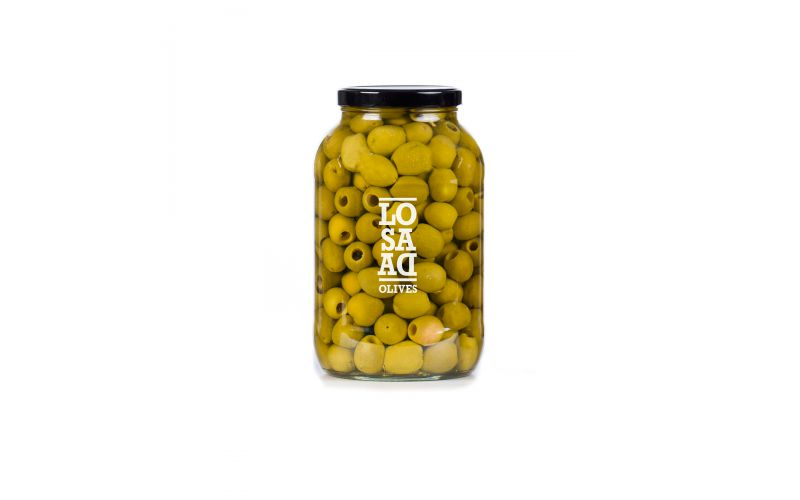 Pitted Gordal Olives in Brine