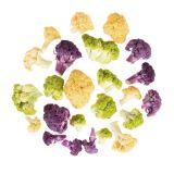 Tri-Color Cauliflower Florets