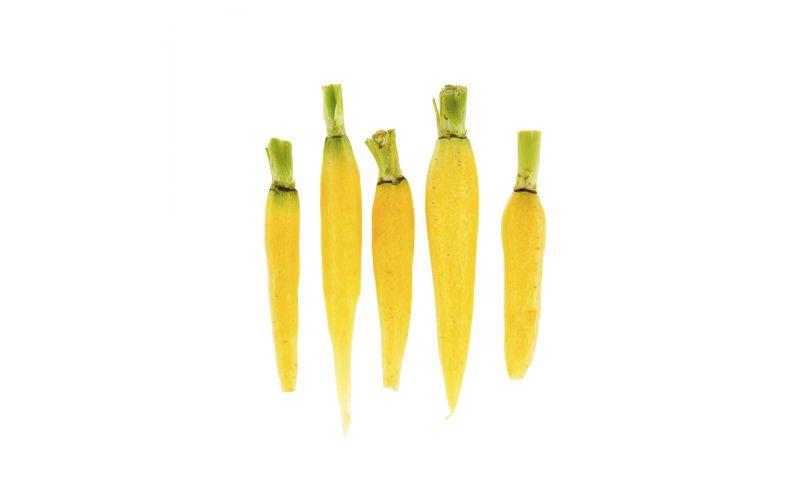 Peeled Baby Yellow Carrots