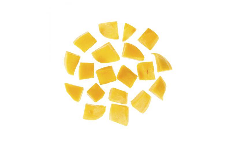 Cubed Mangoes