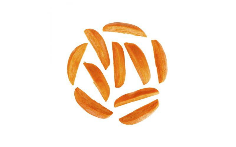 Peeled Sweet Potato Wedges