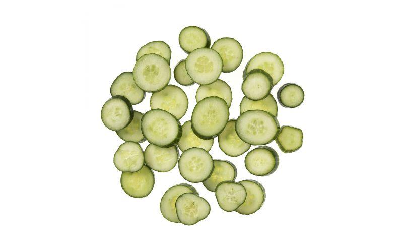 Sliced Hot House Cucumbers