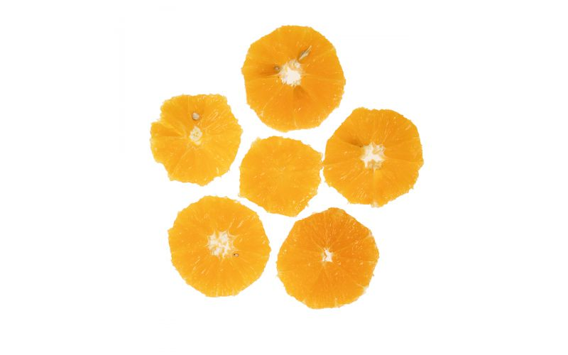 Peeled Orange Wheels