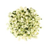 "1/2"" Diced Green Squash"