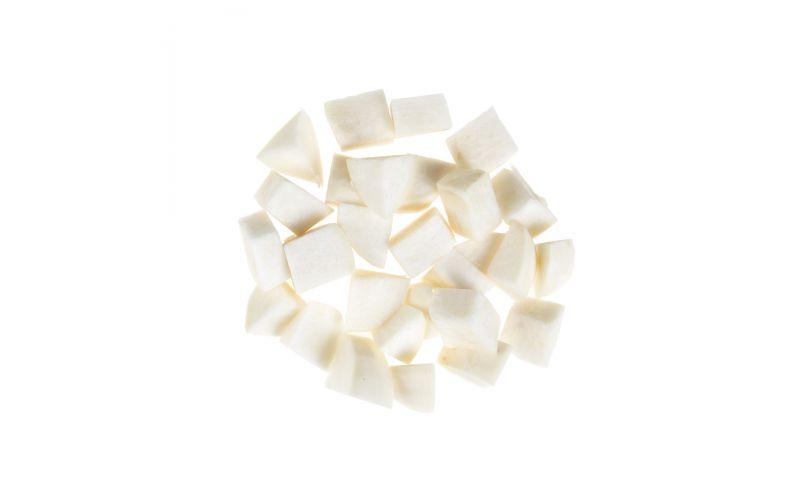 "1"" Cubed White Turnips"