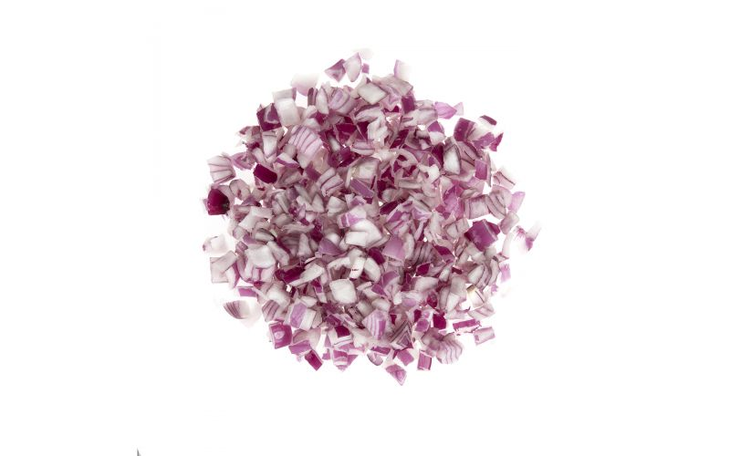 """3/4"""" Diced Red Onions"""