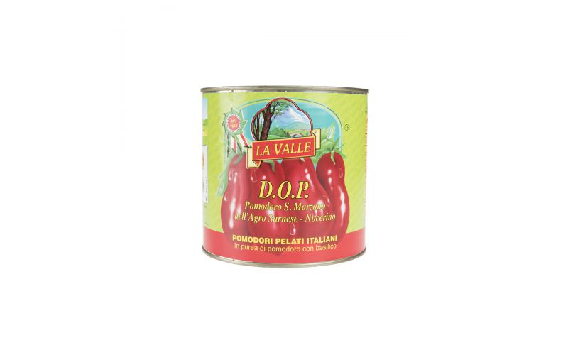 DOP Italian Peeled San Marzano Tomatoes
