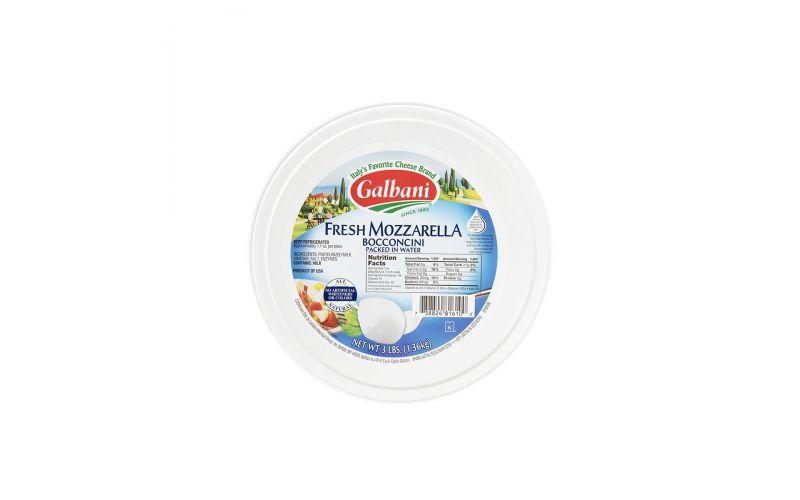 Bocconcini Mozzarella Cheese In Water