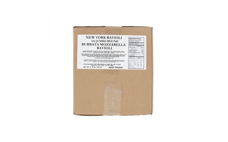 Frozen Burrata Mozzarella Ravioli