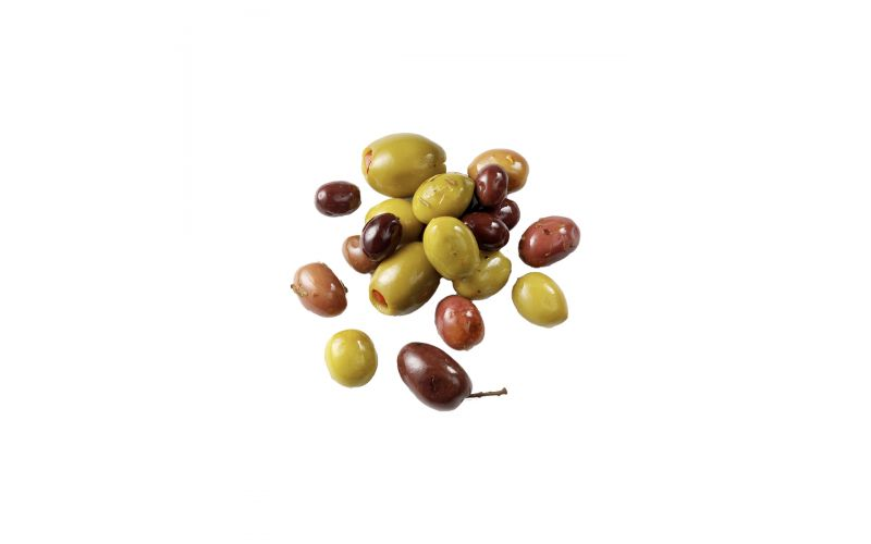 Hot Tunisian Olive Mix Pitted