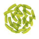 Snipped Snow Peas