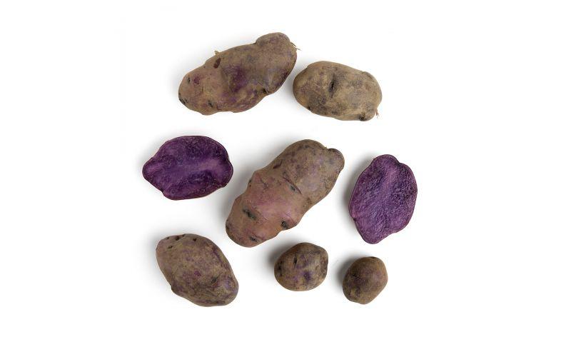 Organic Blue Adirondack Potatoes