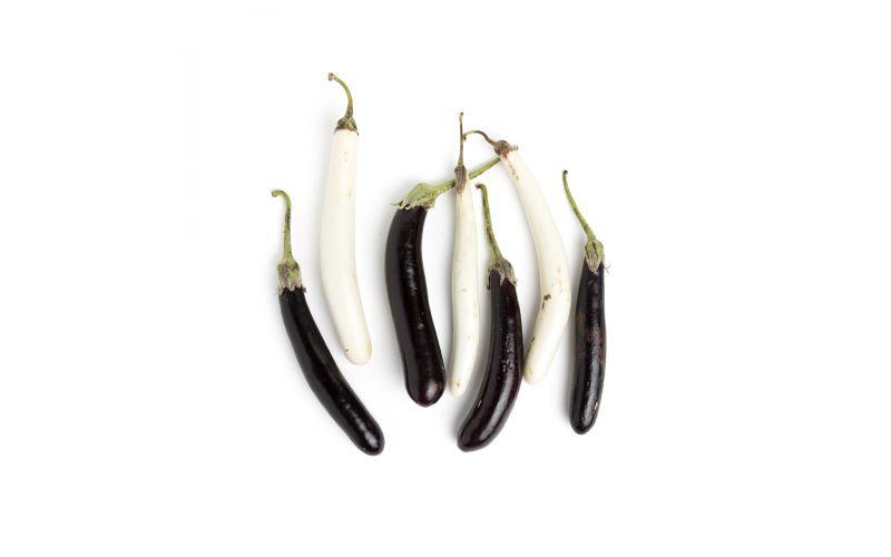 Organic Hansel & Gretel Mix Eggplant