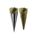 La Rose Noire Spinach Sesame Savory Cones