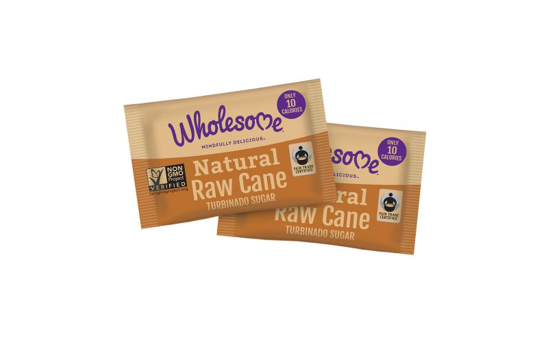 Raw Cane Sugar Packets