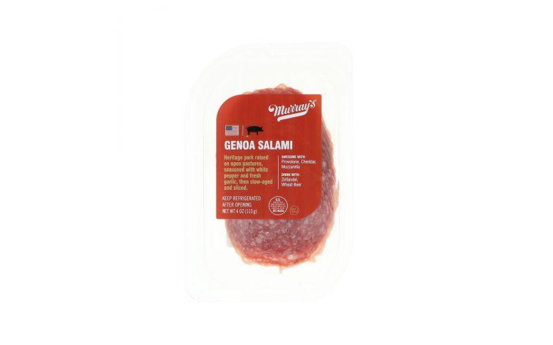 Murray's Sliced Genoa Salami