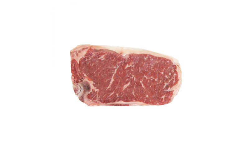Bone In Dry Aged Top Choice Beef Strip Steak 18 OZ