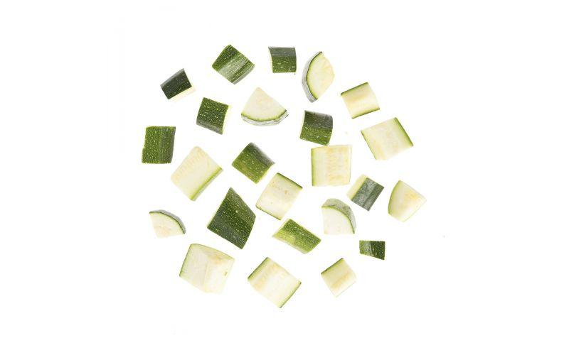 """1"""" Diced Zucchini"""