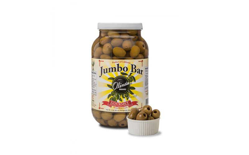 Jumbo Pitted California Queen Olives