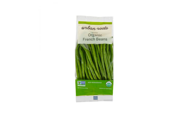Organic Snipped French Beans