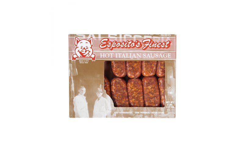 Frozen Hot Italian Sausages 2.5 OZ