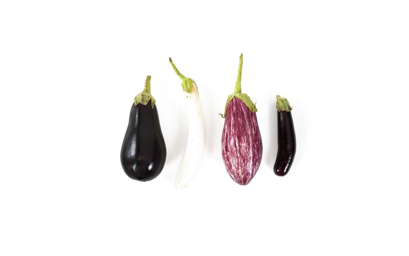 Organic Mixed Eggplant