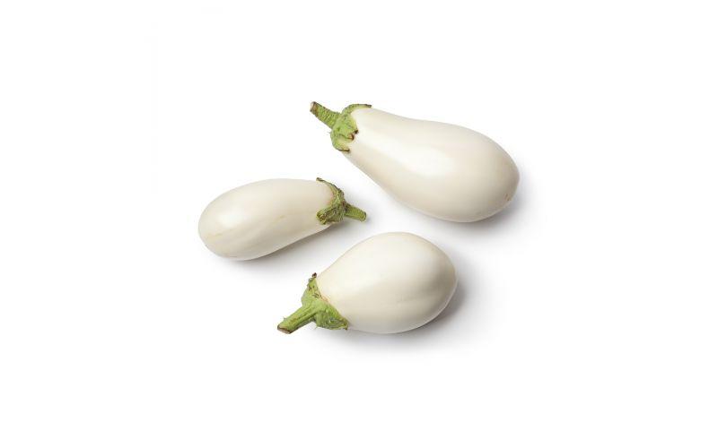 Organic White Eggplant