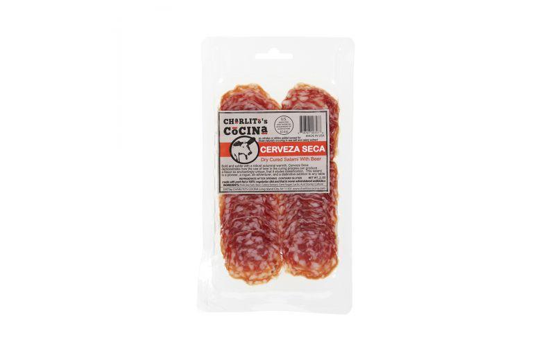 Charlito Cocina Cerveza Seca Sliced Salami