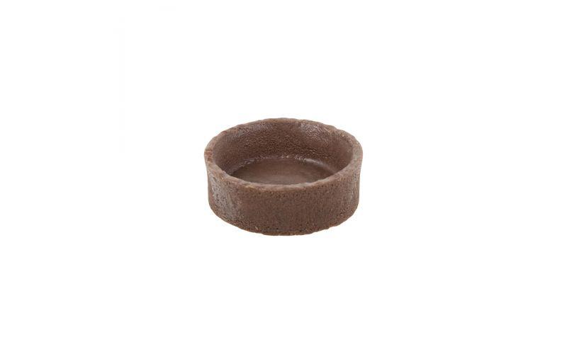 """2"""" Round Chocolate Tart Shells"""
