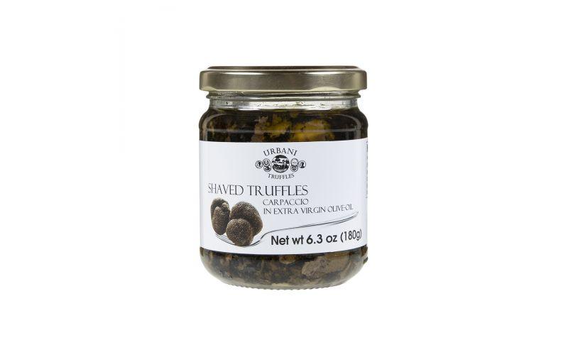 Black Truffle Carpaccio In Olive Oil