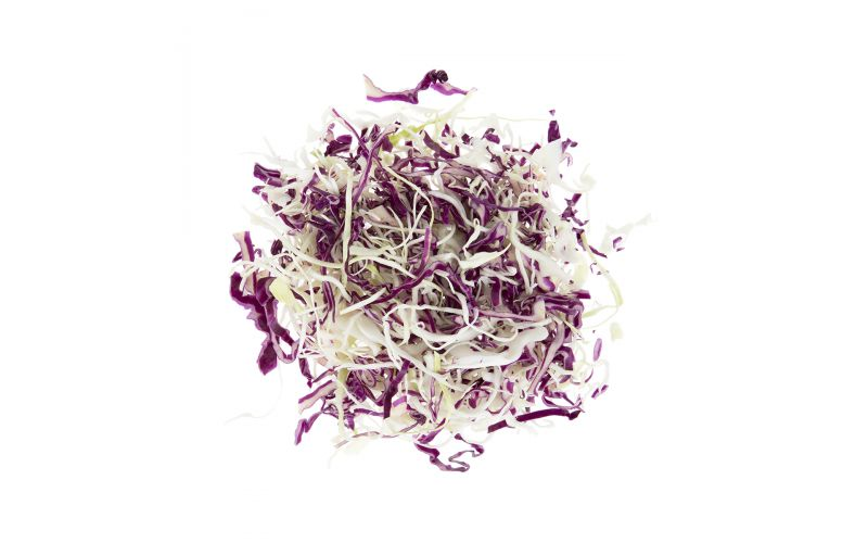 Mix Shredded Red Green Cabbage