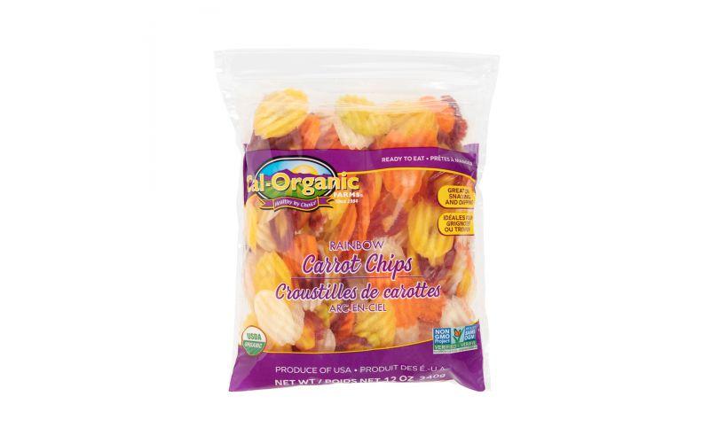 Organic Rainbow Carrot Chips